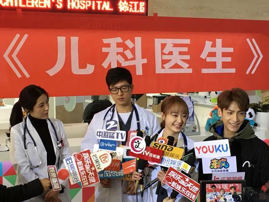 罗云熙出演《儿科医生》 从法医到儿科医生忙不停