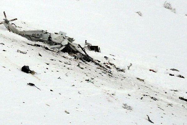 意大利一架救援直升机坠毁 机上载有6人