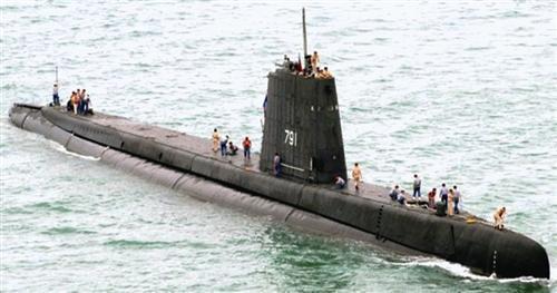 台海军实力挤进全球十强?老旧潜艇根本没法用