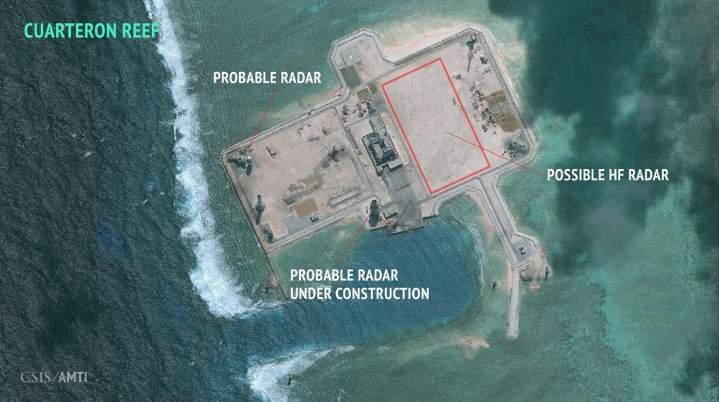 日媒:中国构筑海上长城 打造对美军力量优势