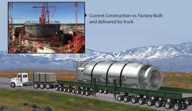 美国核能公司开发迷你核电站 能安装在卡车上