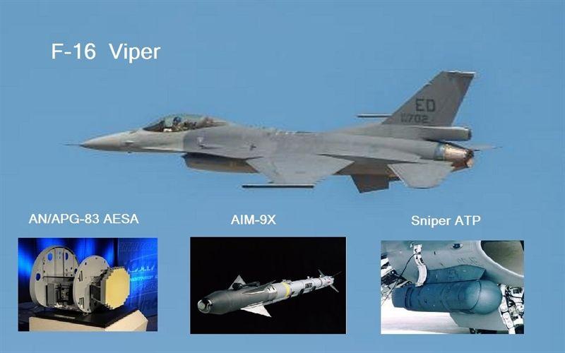 美媒:台军将在6年升级144架F16 价值53亿美元