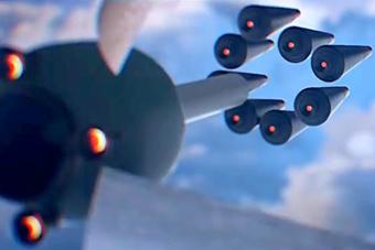 俄军亚尔斯洲际导弹打击模拟