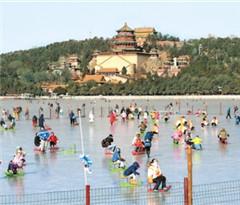 北京各大天然湖冰场全部开放