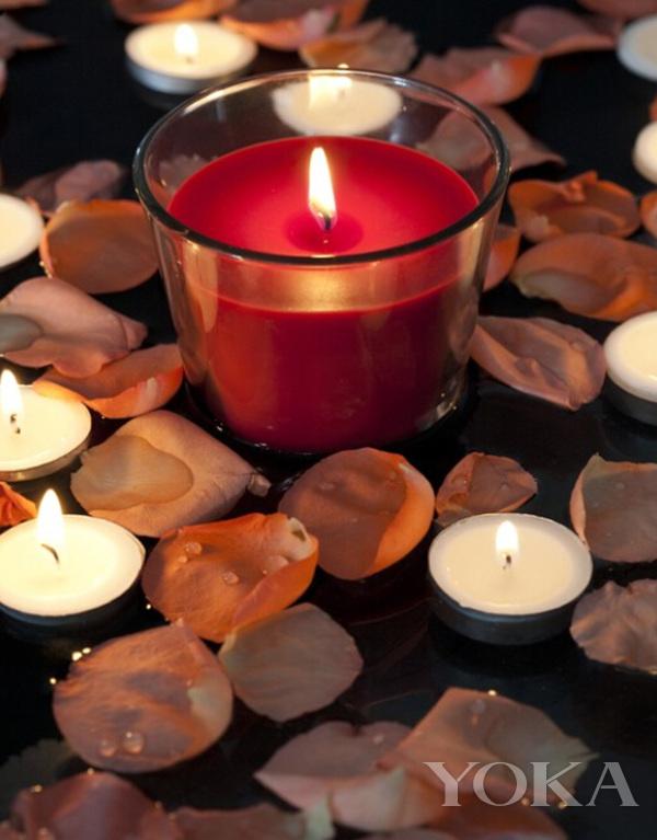 不懂香薰蜡烛的芯 怎么浪漫过节!