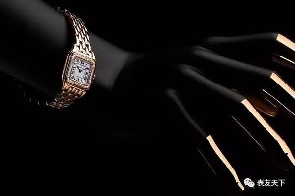卡地亚Panthère de Cartier美洲豹腕表