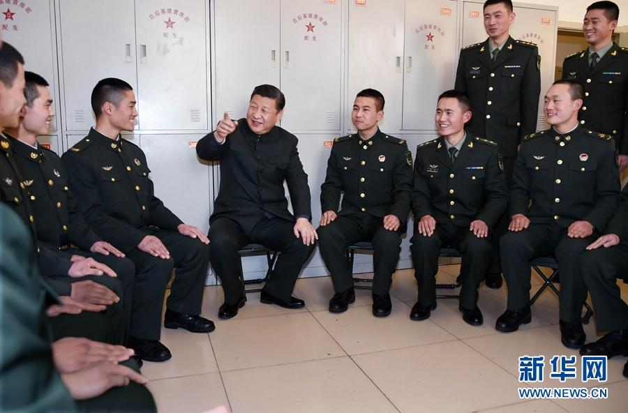 夕视察驻张家口部队 向全军指战员武警部队官兵民兵预备役人图片