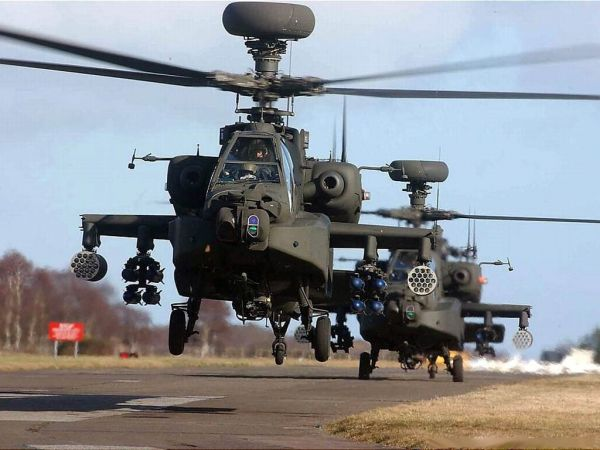 美军向欧洲增派20架阿帕奇 将与俄军坦克大战?