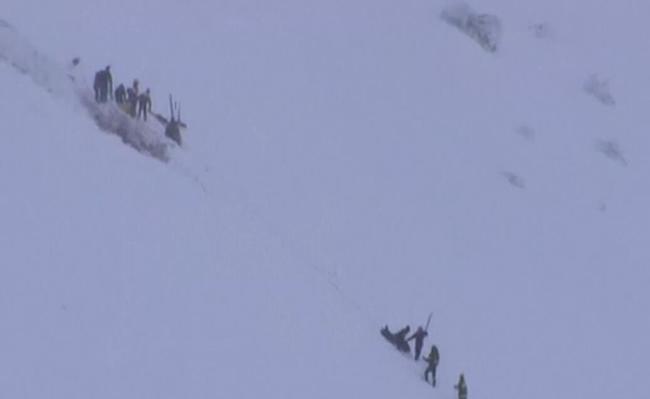 意大利滑雪胜地一架救援直升机坠毁 机上6人遇难
