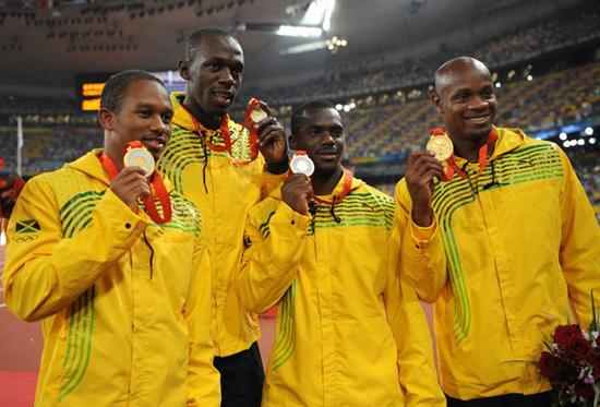 博尔特队友药检中标 08奥运4*100接力金牌被剥夺
