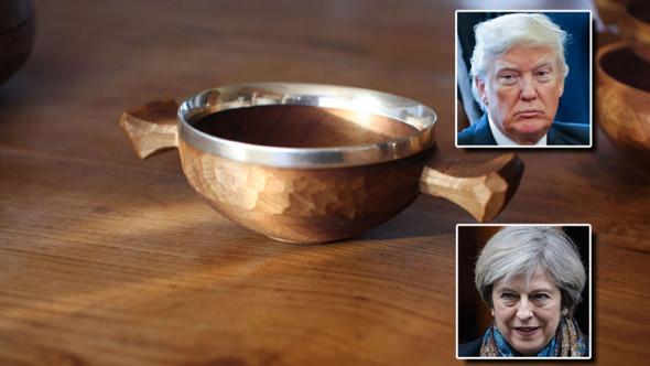 英国首相即将访美 她为特朗普准备了这么一个神秘礼物……