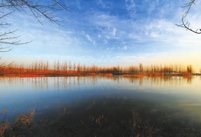 驻马店汝南宿鸭湖水库:唯美风景似童话世界