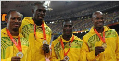 博尔特队友药检阳性 2008年奥运接力金牌被剥夺