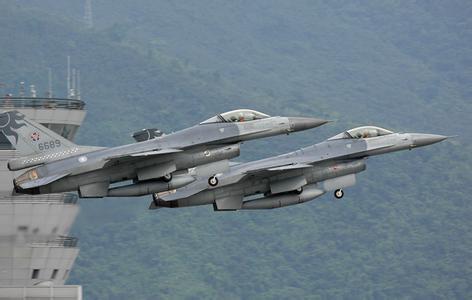 简氏:美国为台军升级F16 首批成本18.5亿美元
