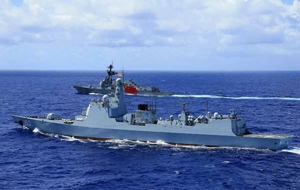 中国神盾舰除夕守护东海 每天应对几十批空情