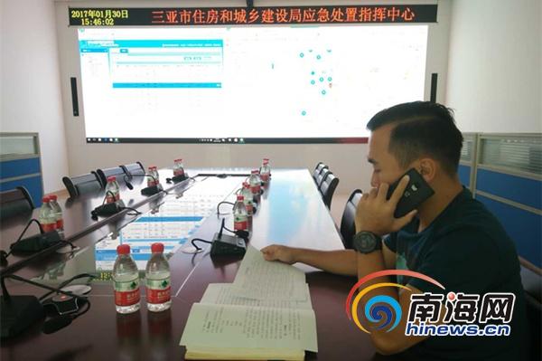领导人亲戚职务-坚守岗位 三亚应急中心副主任吉嘉骥连续5年过年不回家图片