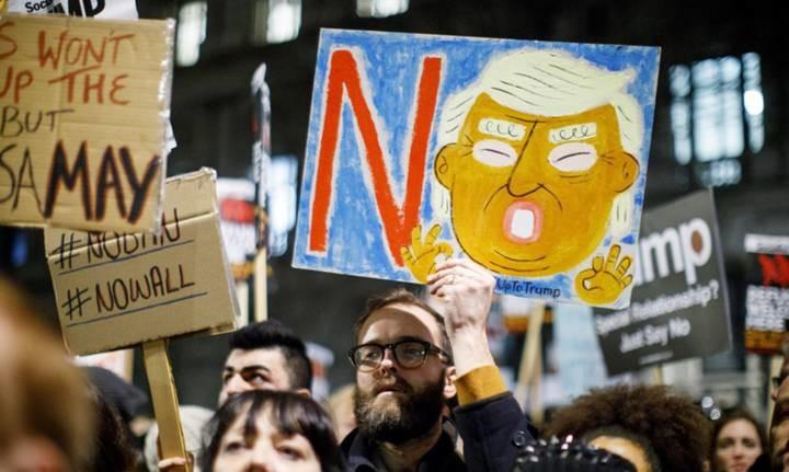特朗普颁发移民新政 来自全球的反击开始了......