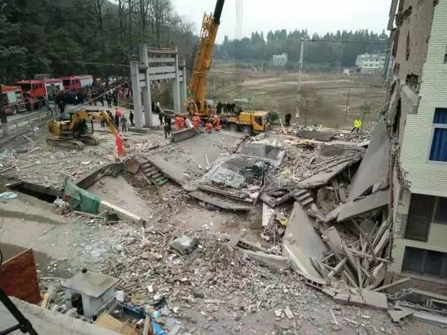 突发!浙江温州五层民房倒塌,初步确认6人被困