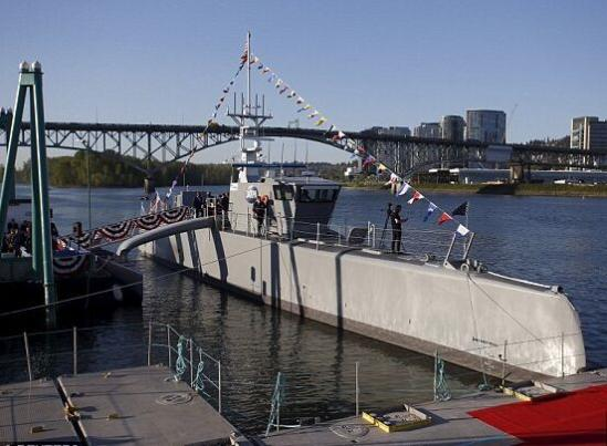 美媒:中国瞄上无人反潜船 日后或赴关岛外巡逻