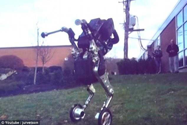Boston Dynamics曝光两轮人形机器人Handle