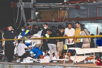 马来西亚新年沉船事故:成都游客讲述惊险一幕