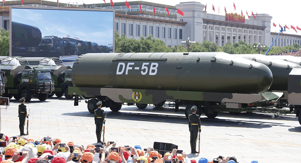 俄媒:中国核力量逼近美俄 将批量生产东风5导弹