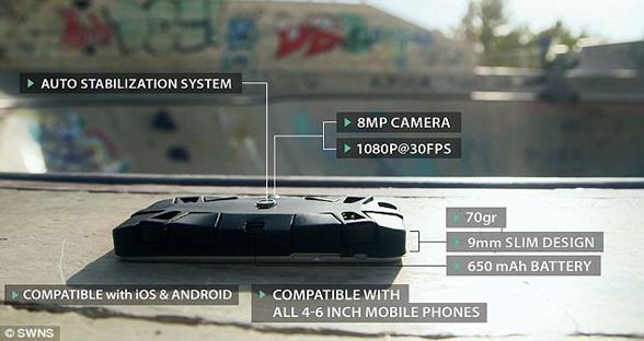 想拥有私人摄影师?迷你自拍无人机帮你360度抓拍