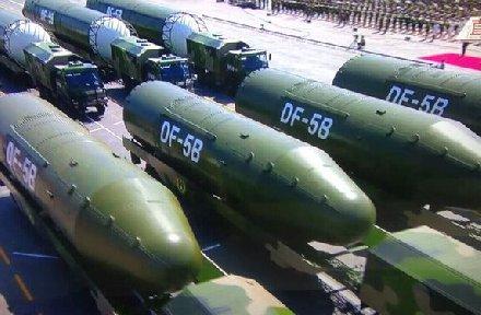 中国试射东风5C引美方震动:重新评估中国核力量