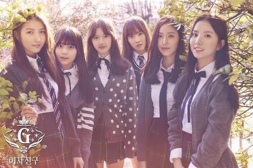 韩女团GFRIEND热曲《Rough》在线试听量破亿