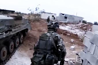 俄罗斯军队征战叙利亚热血大片