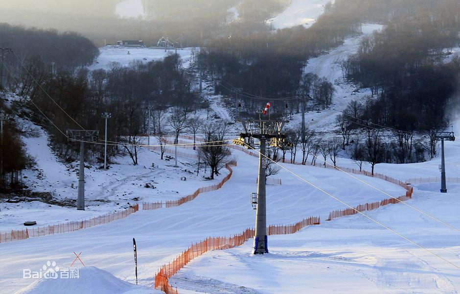 吉林松花湖滑雪场