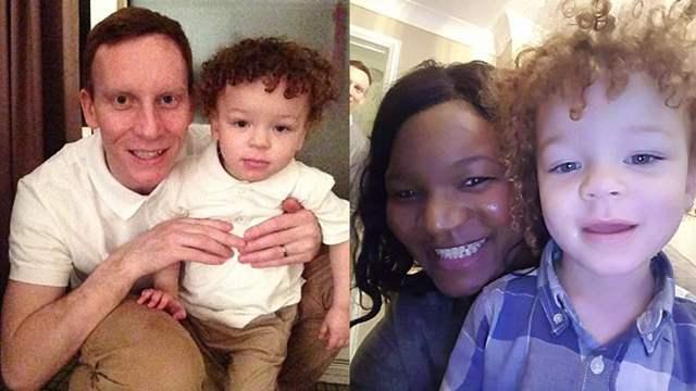 黑人女子诞下两白人宝宝 概率仅为百万分之一