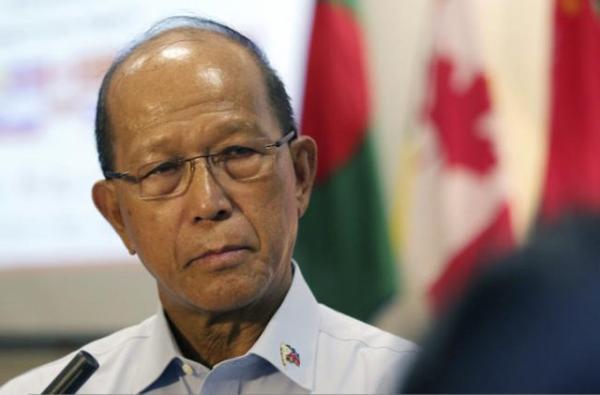 菲防长:中美南海开战之说太夸张 若对峙将中立