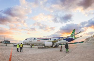C919客机进入首飞准备阶段 预计今年上半年首飞