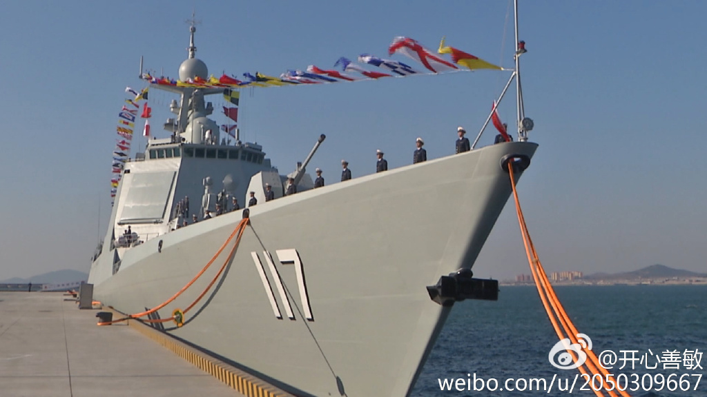 """台媒热议两岸""""西宁""""号军舰 称未来或海上相遇"""