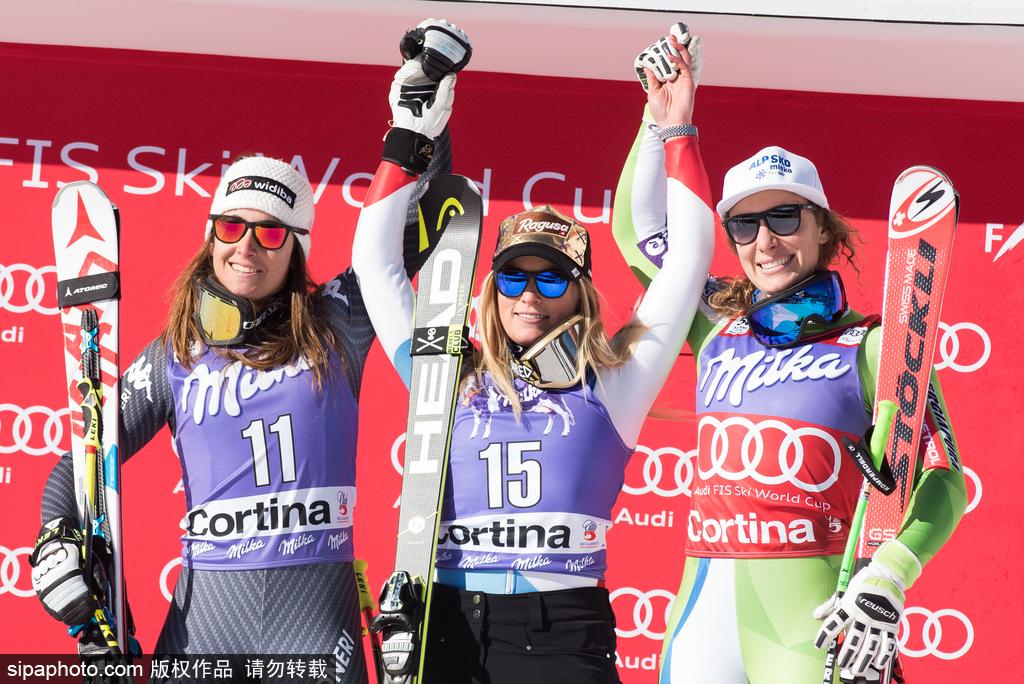 2017高山滑雪世界杯:劳拉·古特获得女子速降比赛冠军