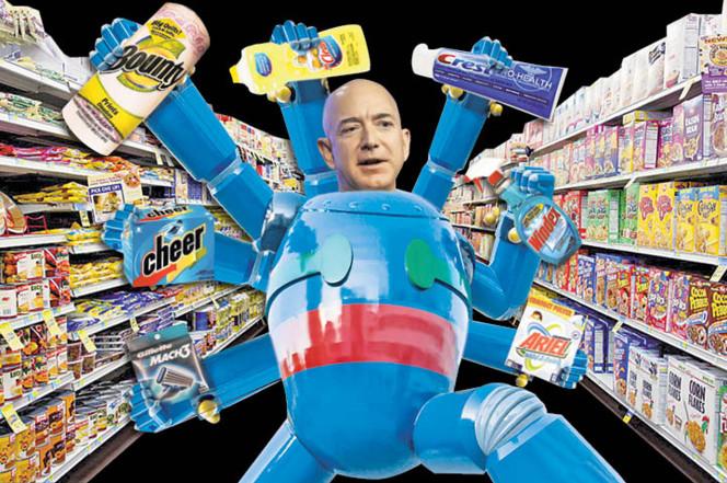 亚马逊要开机器人超市 最少只需要3名员工
