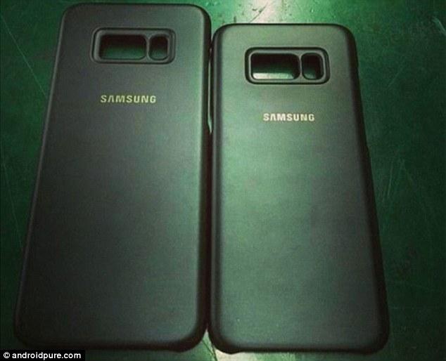 """三星Galaxy S8新增指纹扫描和""""Bixby""""按键"""