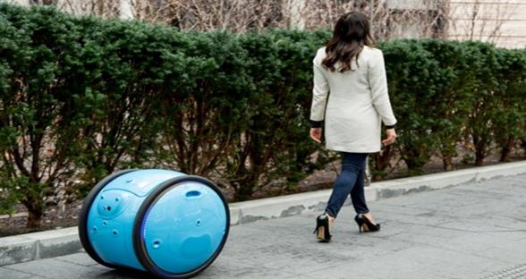 有了这个机器人搬运工 购物再也不用带老公