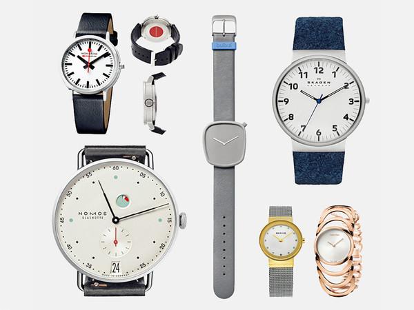 6 个极简主义手表品牌:简洁不简单