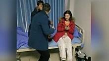 俄罗斯小夫妻穷游中国  没钱住店闯入医院