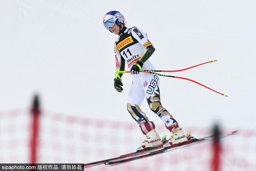 瑞士:FIS高山滑雪世界杯圣莫里茨站首日精彩集锦