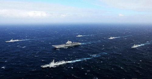 日媒:中国航母挺进美近海时 美对华压力将动摇