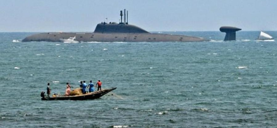 印度海军开展大型军演 重点模拟对付中国攻击