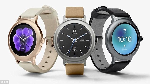 LG联合谷歌发布两款安卓Wear 2.0手表