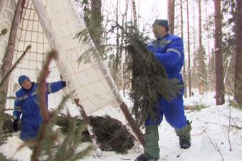 俄罗斯上演宇航员版荒野求生
