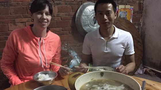 洋媳妇杰茜卡:感受乡村中国年 平淡又幸福