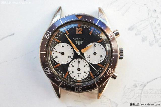 Heuer Autavia古董腕表在线拍出19.5万美元 创下泰格豪雅腕表公开销售记录