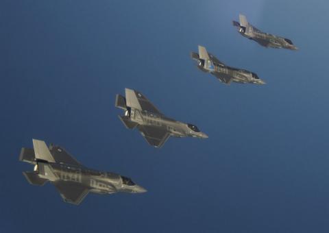 赤裸裸挑衅中国?美军三型F35战机或来亚太聚齐