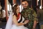 叙利亚30对新人办集体婚礼